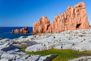 Sardinien (Italien), Rote Felsen von Arbatax