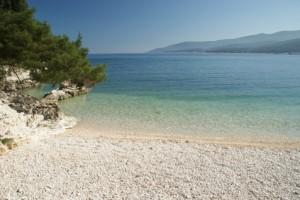 Adria-Küste in Kroatien