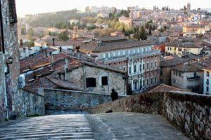 Perugia in Umbrien, Italien