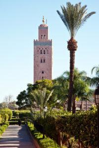 Koutoubia Moschee von Marrakesch (Foto © Edler von Rabenstein - Fotolia.com)