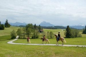 Reiter im Ostallgäu