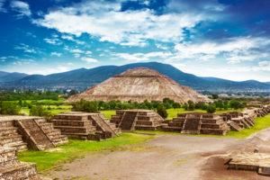 Pyramiden von Teotihuacán, Mexico