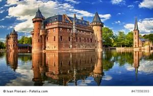 Kasteel de Haar Utrecht, Niederlande