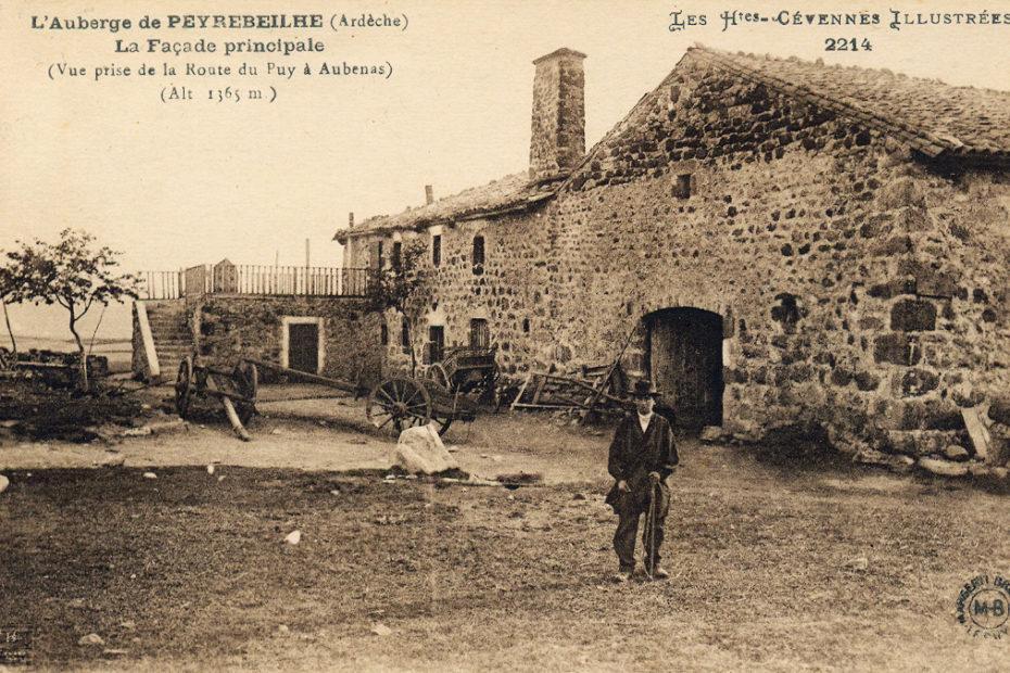 Auberge de Peyrebelle in Aubenas, Südfrankreich