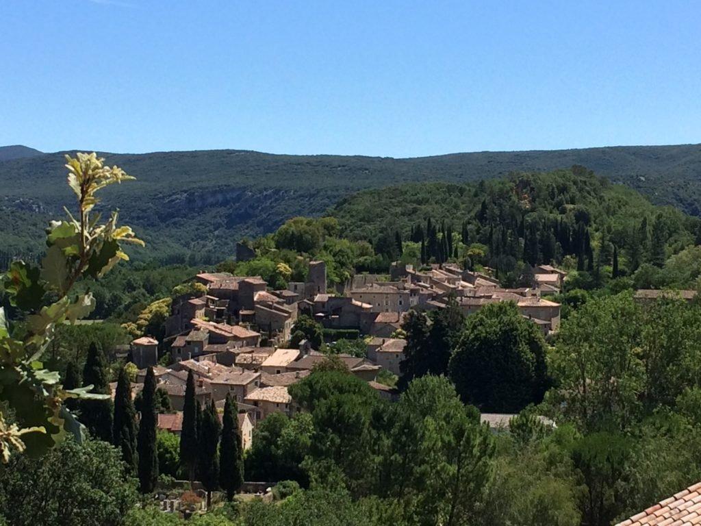 Salavas, ein uriges Dorf an der Ardèche