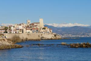 Anitbes an der Côte d'Azur, Südfrankreich