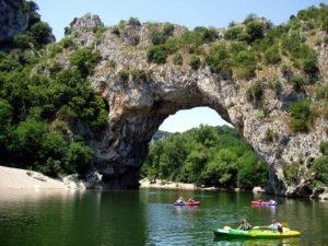 Der Pont d'Arc - das Wahrzeichen der Ardèche