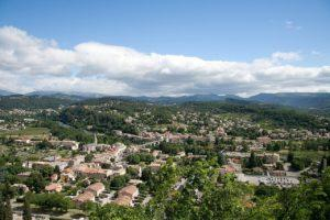 Aubenas, Departement Ardèche, Frankreich