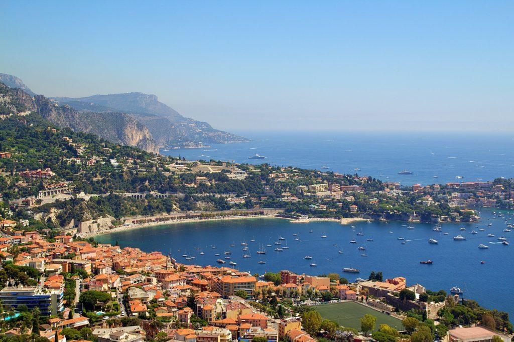 Nizza an der Côte d'Azur, Frankreich