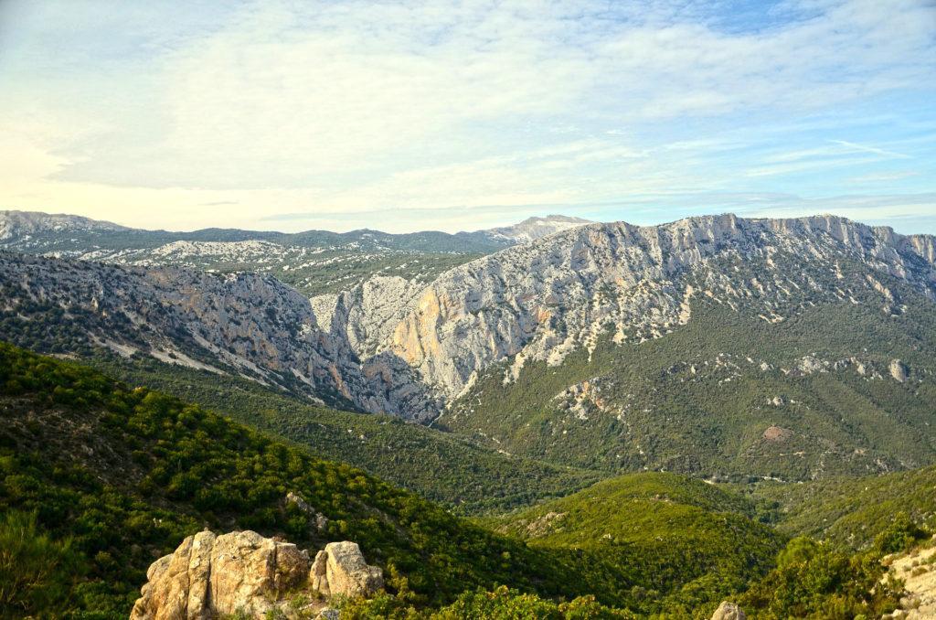 Gebirge auf Sardinien