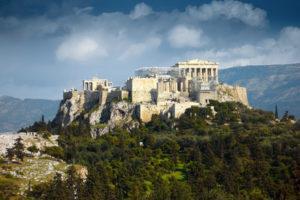 Die Akropolis in Athen, Griechenland