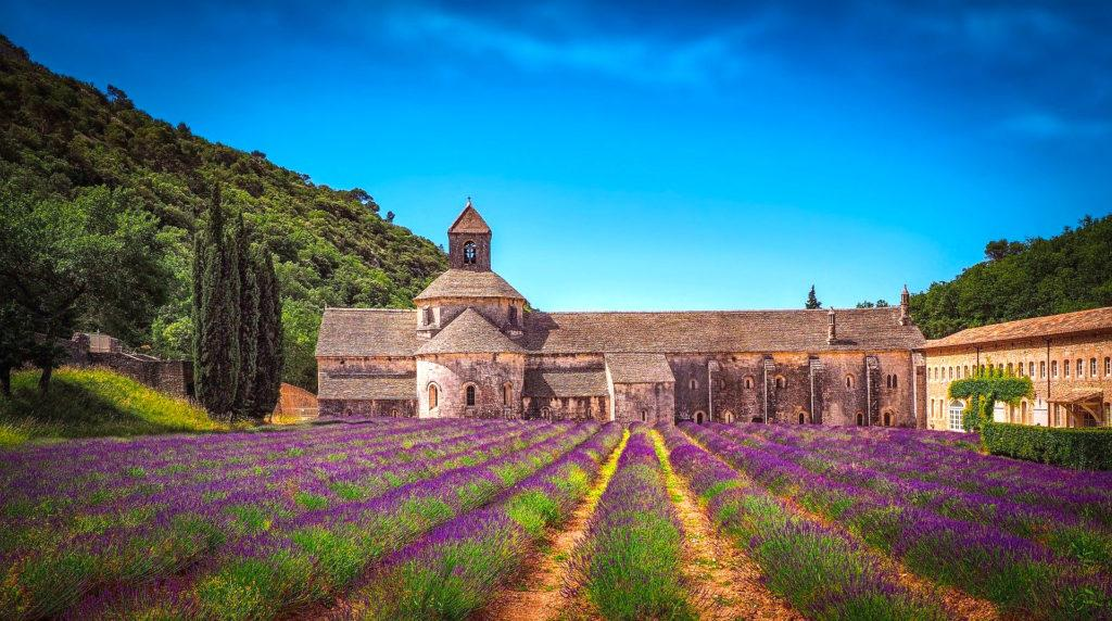 Abtei Senanque in der Provence in Südfrankreich