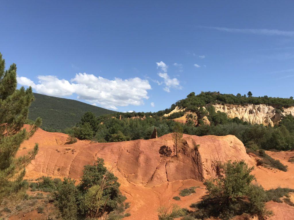 Colorado Provencal bei Rustrel im Grand Luberon