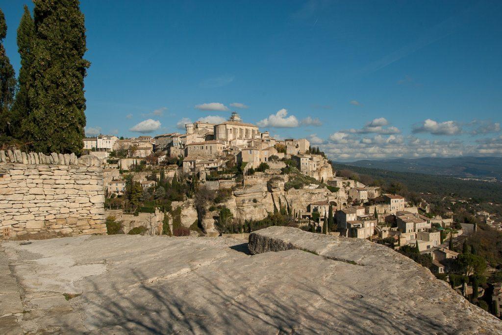 Gordes im Luberon in der Provence