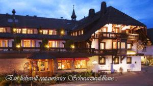 """""""Wellnesshotel Adler im Schwarzwald"""""""