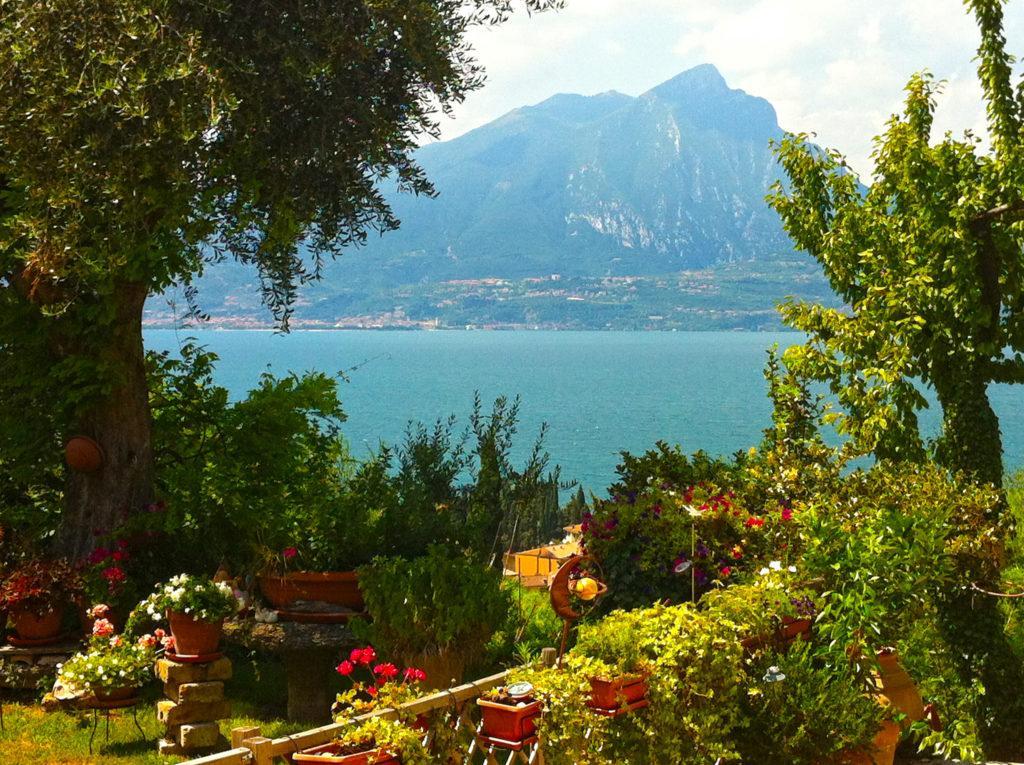 Blick auf den Monte Pizzocolo, Gardasee