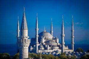 Istanbul, Türkei - Blaue Moschee