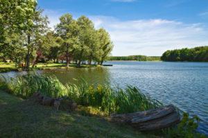 Seenlandschaft in Mecklenburg-Vorpommern