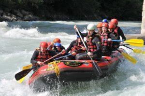 Rafting in Südtirol