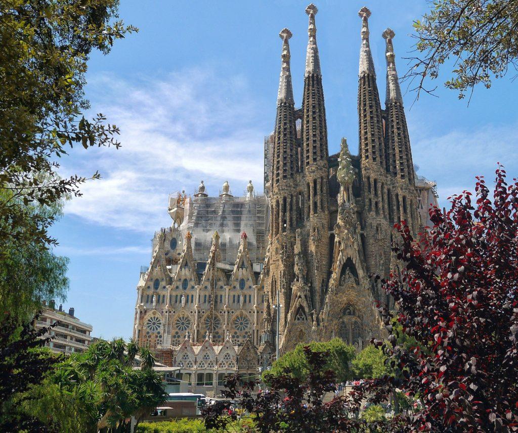 Kathedrale in Barcelona, Spanien