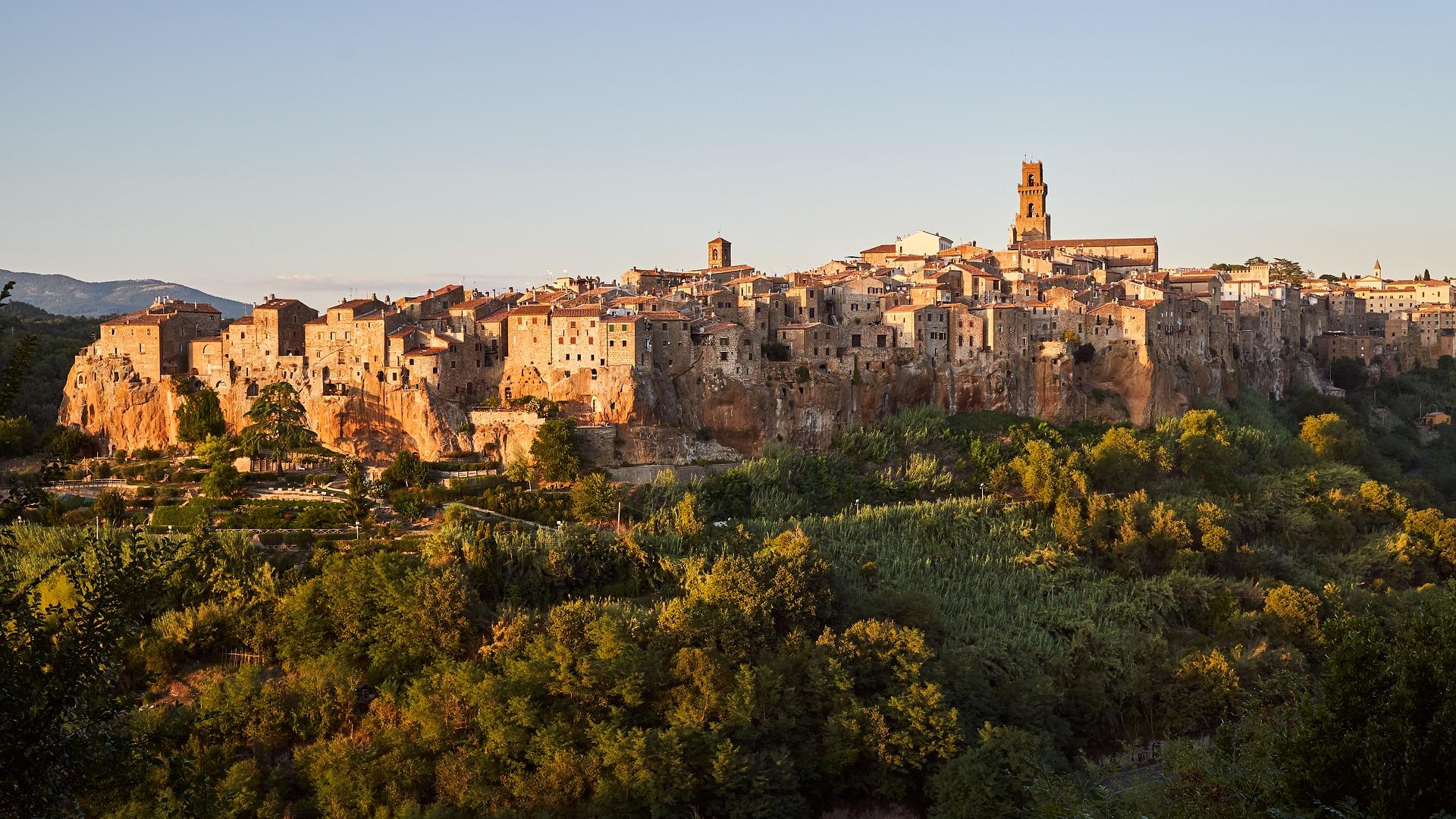 Pitiglioano, Toskana, Italien
