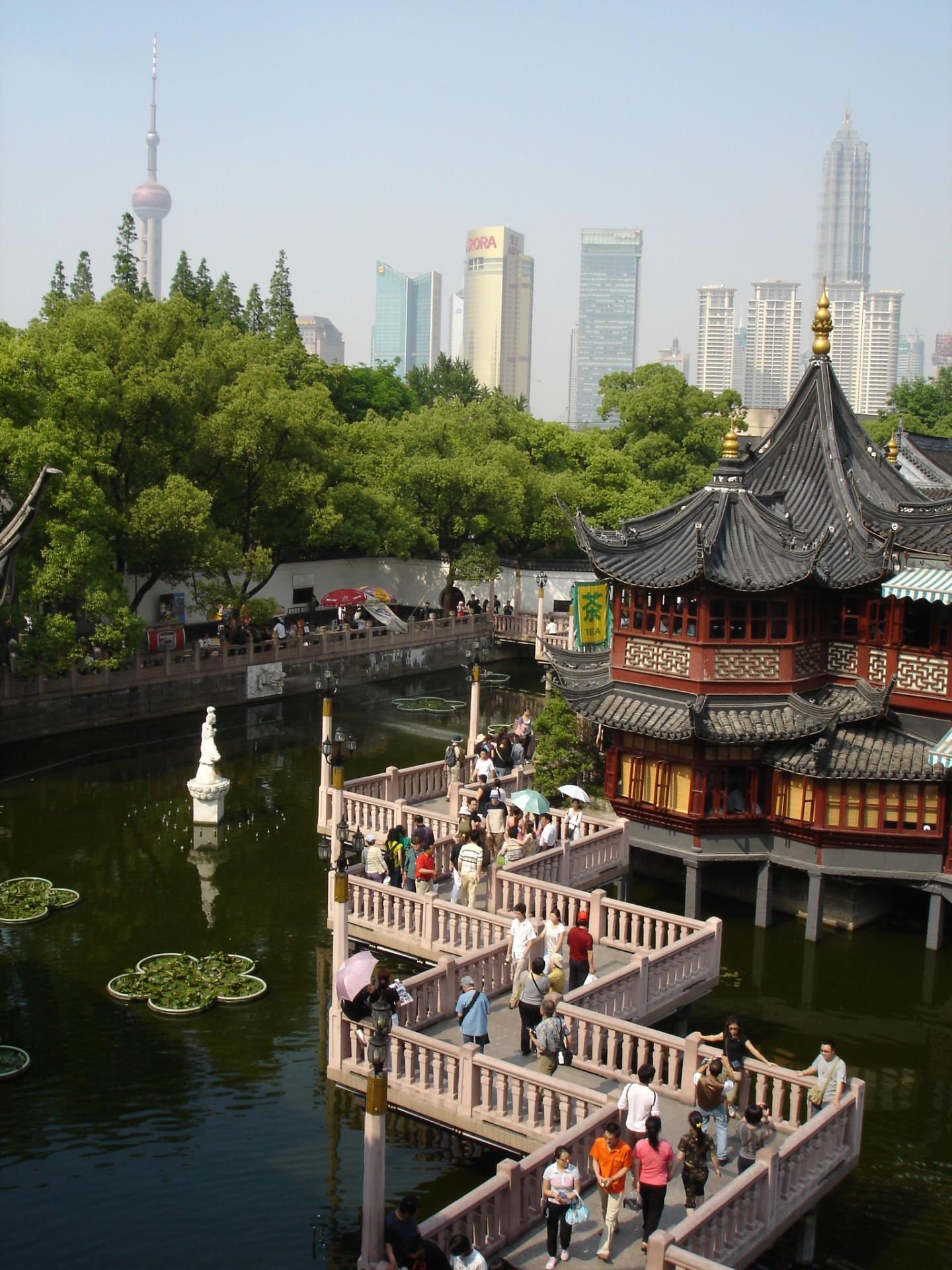 Shanghai - Huxingting-Teehaus im Yu-Garten - Foto China Tours