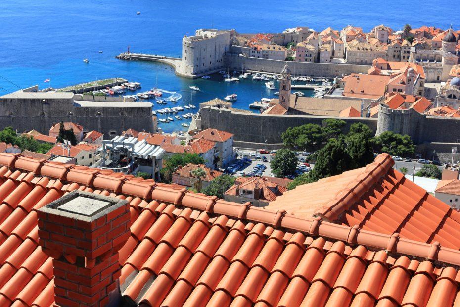 Hafen von Dubrovnik, Kroatien