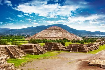 Pyramiden von Teotihuacán, Mexico (© Anna Omelchenko - Fotolia.com)