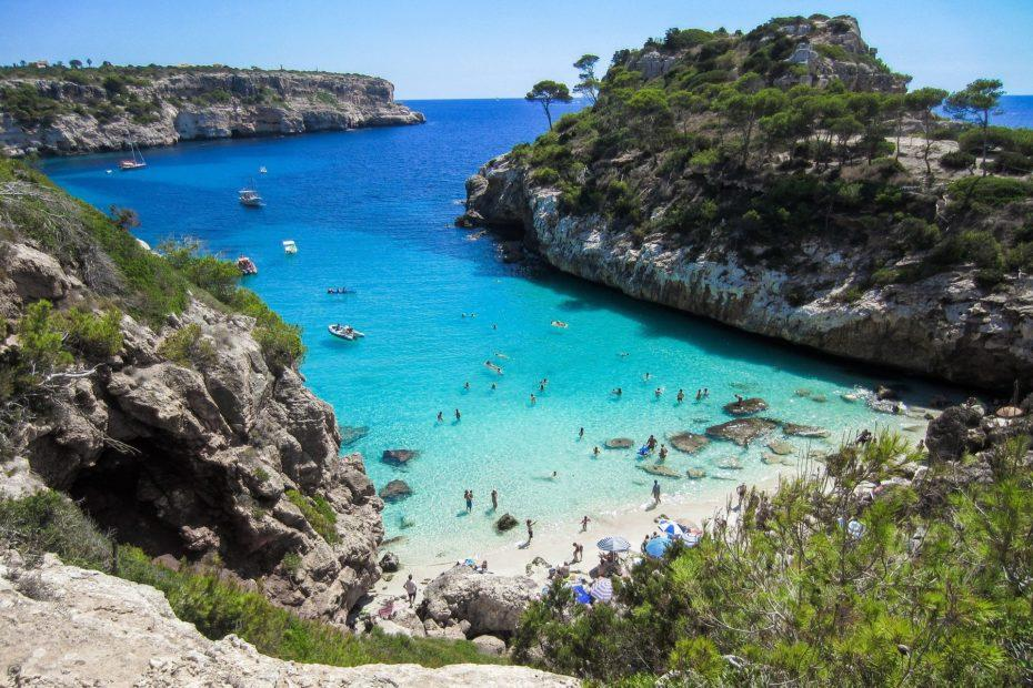 Mallorca Urlaub: Badebucht auf Mallorca, Balearen