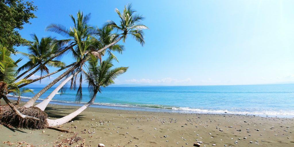 Strand auf Costa Rica