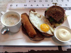 Holland Rezepte. Broedjes - typischer Lunch in NL