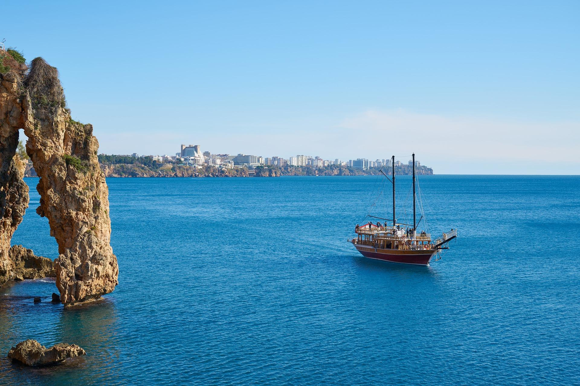 Küste bei Antalya, Türkei