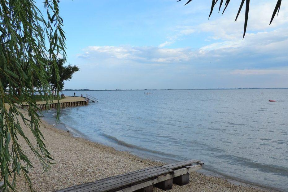 Neusiedler See in Österreich / Ungarn