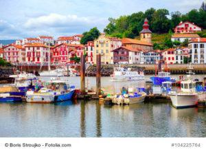Saint Jean de Luz in Frankreich: kleines Fischerdorf im Baskenland