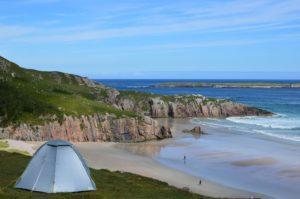 Schottlands Küste im Norden