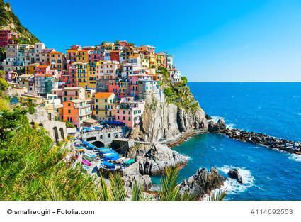 Manarola, Cinque Terre, Ligurien, Italien