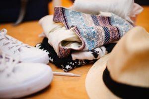 Die richtige Kleidung einpacken