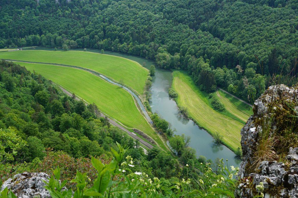 Die obere Donau bei Sigramingen