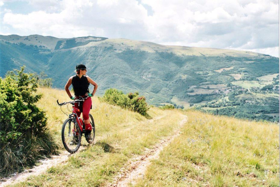 Mountainbike im National Park Monti Sibillini