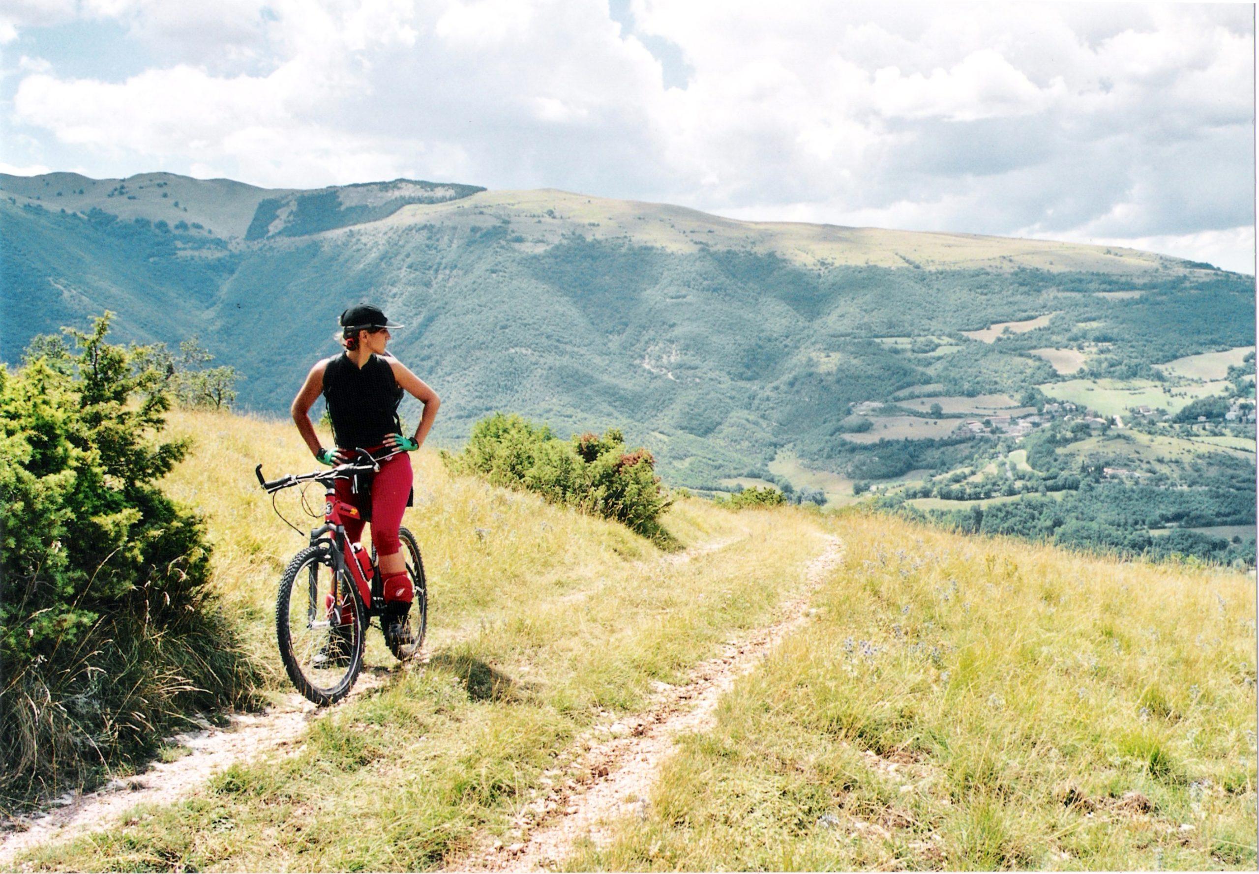 Mountainbike im National Park Monti Sibillini