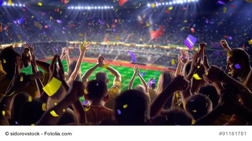 Sportevent Fußball