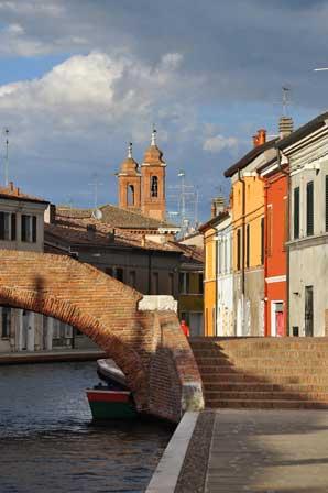 Comacchio (Klein-Venedig)