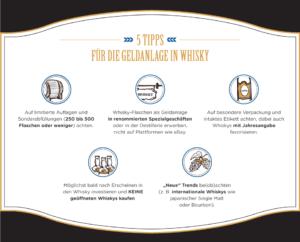 5 Tipps für die Geldanlage in Whisky