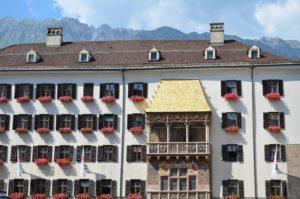 Innsbruck, Goldenes Dachl, Österreich