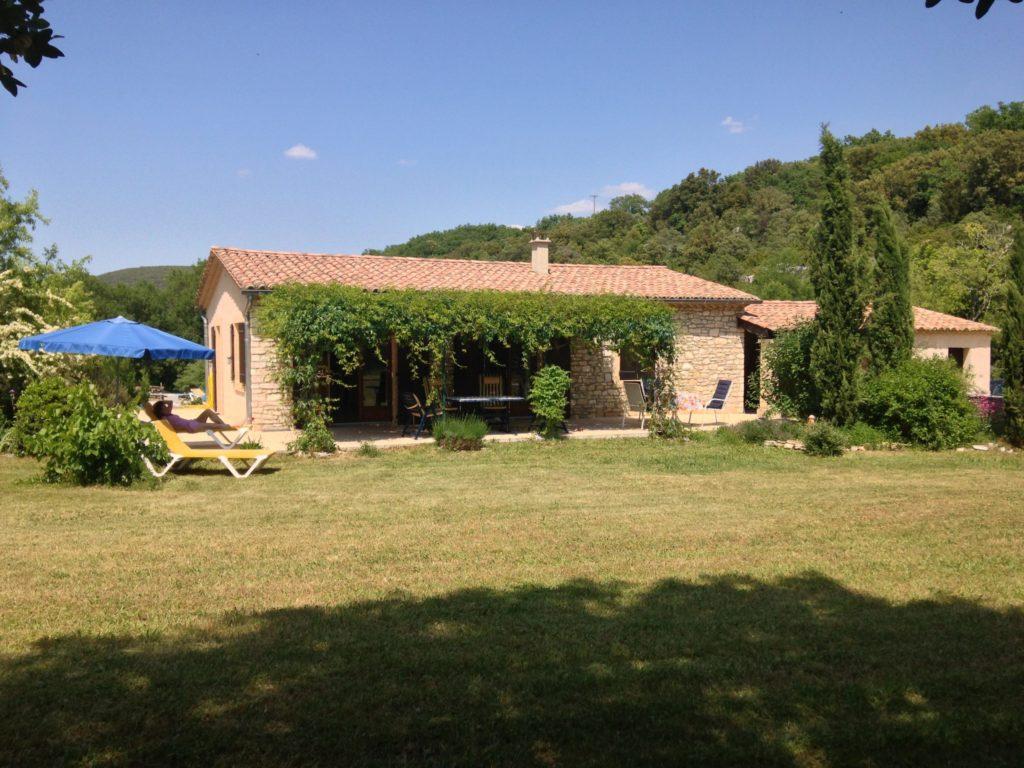 Ferienhaus an der Ardèche in Südfrankreich