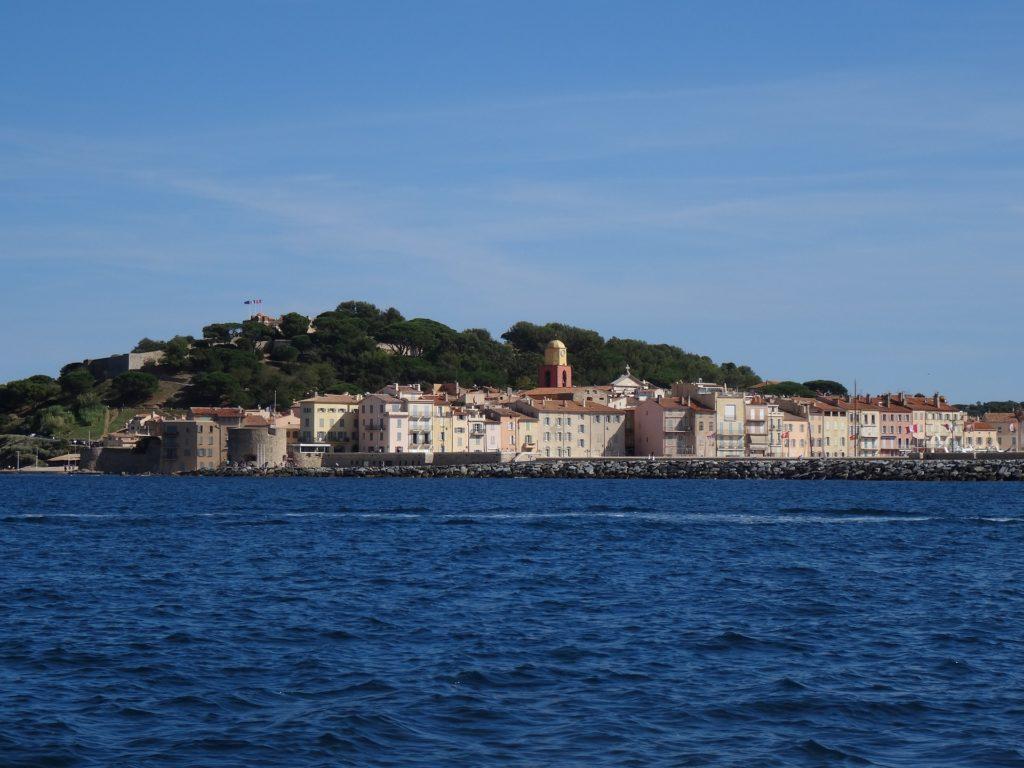 Saint Tropez an der Côte d'Azur, Frankreich