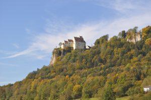Schloss Werenwag, Obere Donau