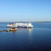 Die Methanolfähre Stena Germanica ist auf der Route Kiel-Göteborg im Einsatz