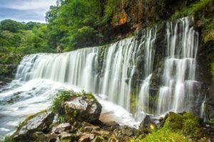 Wasserfall, Wales, Großbritannien
