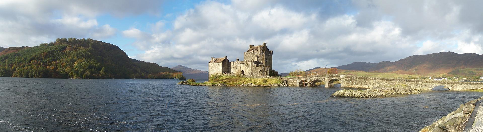 Schottland, Eilean Donan Castle, Großbritannien